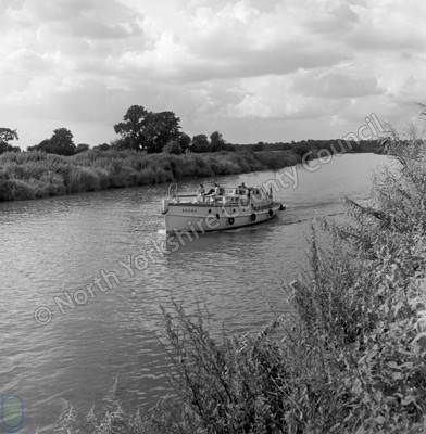 Sailing, River Ouse, Cawood